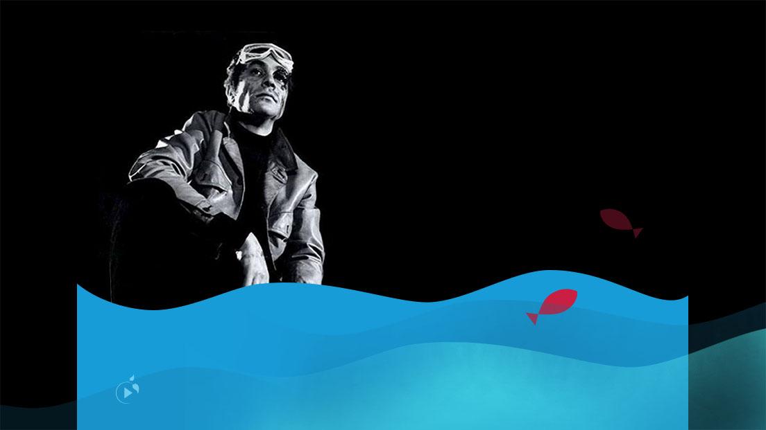 مردی که تنها بود و ماهیای که تنها شد