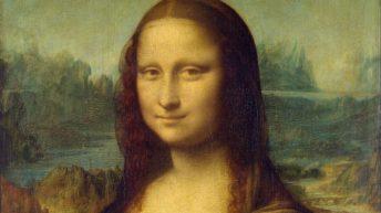 ۵. مونالیزا اثر لئوناردو داوینچی