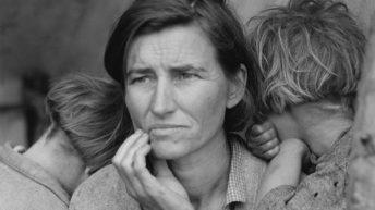 ۲. مادر مهاجر – دوروتیا لنگ