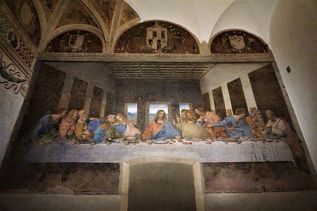 ۱. شام آخر اثر لئوناردو داوینچی