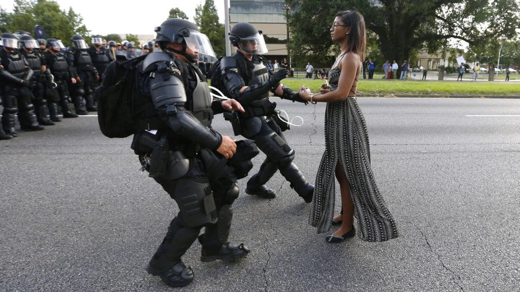 تصویر هنری زنان به مثابه نماد اعتراض