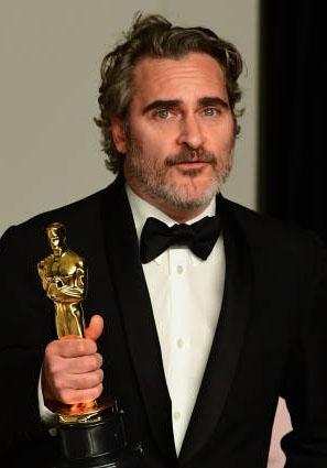 واکین فینیکس، برندهی اسکار بهترین بازیگر نقش اول مرد برای فیلم جوکر